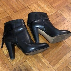 French Connection Heel Boots Genuine Leather 37